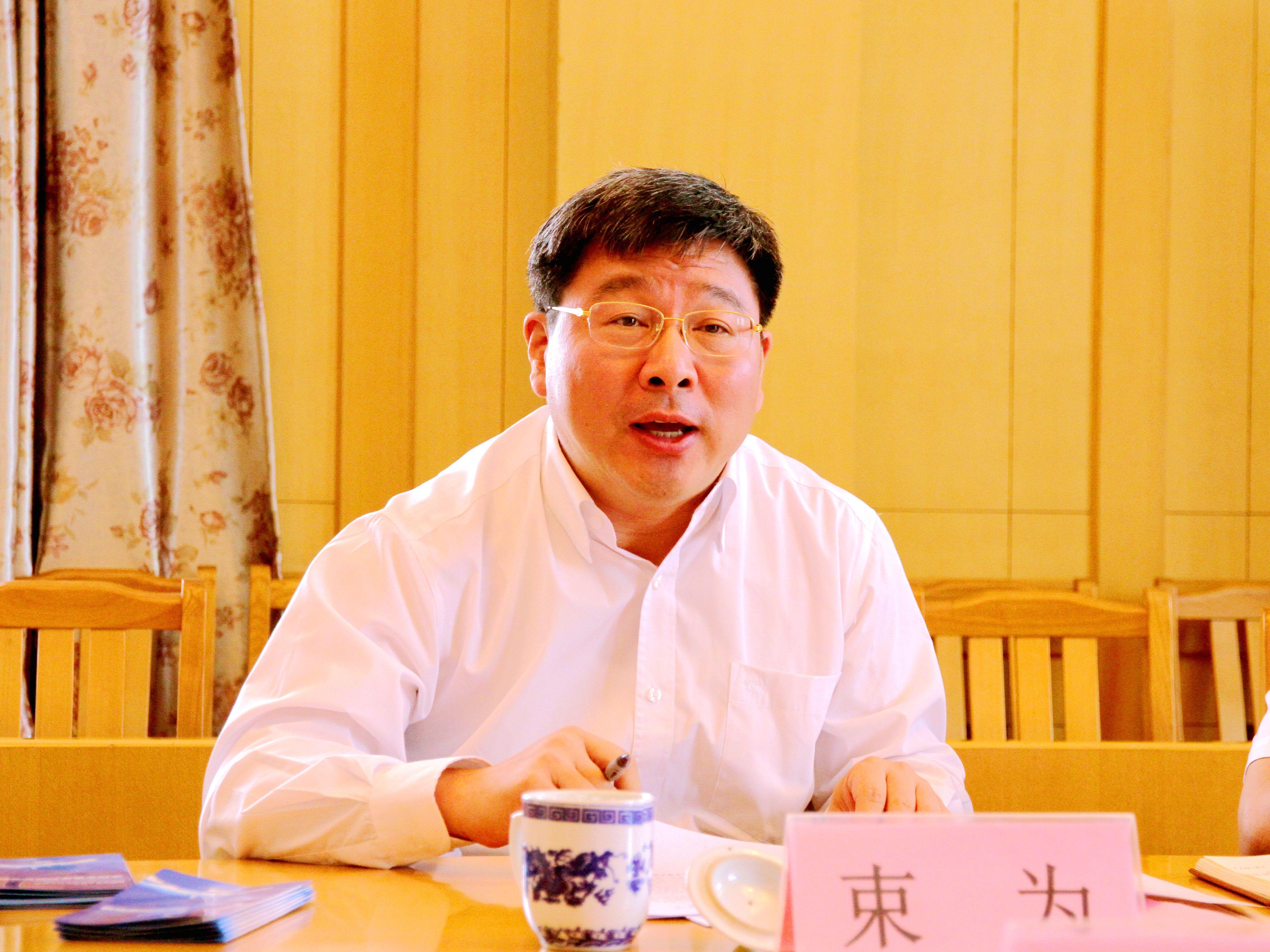 中国科协党组成员、书记处书记束为到苏州调研