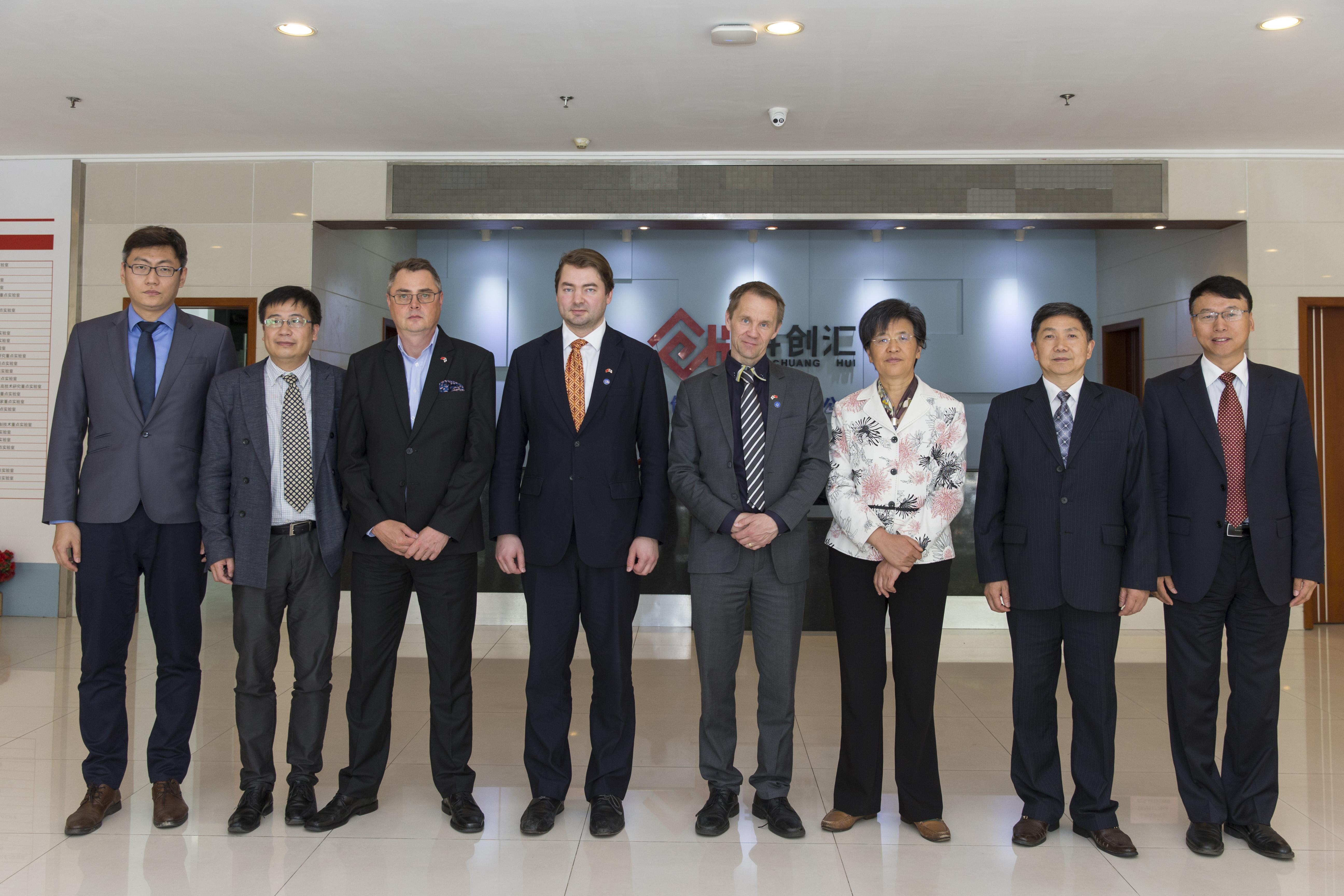 芬兰国会议员代表团到访江苏省科协